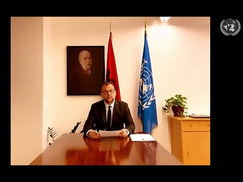 Albania responds to Iranian regime's baseless accusations on PMOI MEK in UN Session