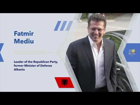 Fatmir Mediu's remarks on Day 3 of the Free Iran Global Summit – July 20, 2020