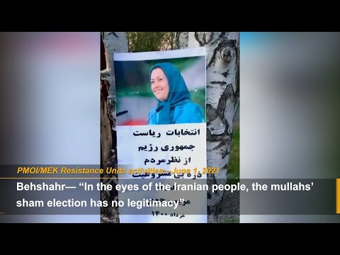 PMOI/MEK network inside the country call for Iran election boycott