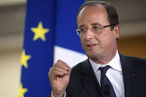 French leader:  Assad cannot be a partner in the fight against terrorism