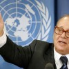 UN's Jean Ziegler calls for deployment of Blue Helmets to protect Iranians in Camp Liberty, Iraq