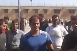 Iran: Video shows  August prison protest that was followed by guards opening fire