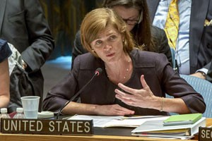 Amb. Power: U.S. not coordinating with Iran against ISIS