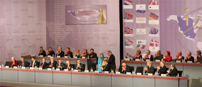 international congress in Berlin, March 19, senior American officials under Clinton, Bush and Obama administrations, political figures and other personalities from European and Arab countries expressed support for people's uprising in Iran and examined prospects of change in that country