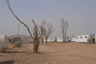 Iraq blocks entry of oxygen containers for Camp Liberty's asthma patients