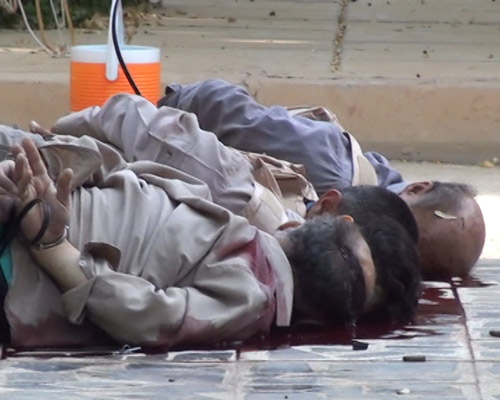 Iran-Iraq- photos A crime against humanity - Massacre at Camp Ashraf