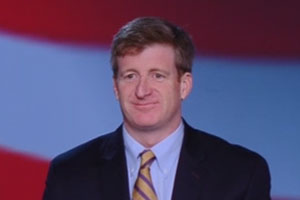 Patrick Kennedy speaks in Convention of Iranian Communities