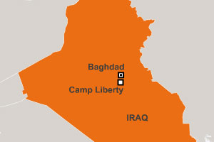 Camp Liberty, Iraq