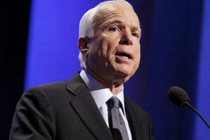 Senator McCain urges Kerry to expedite resettlement of Iranian dissidents in Camp Liberty