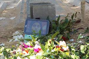 Reyhaneh Jabbari's burial site