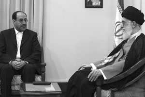 Maliki meeting with Khamenei