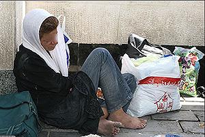 Women make up a third of Iran's homeless population ...