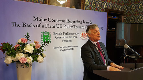 Steve McCabe MP, September 15, 2015, conference on Iran policy