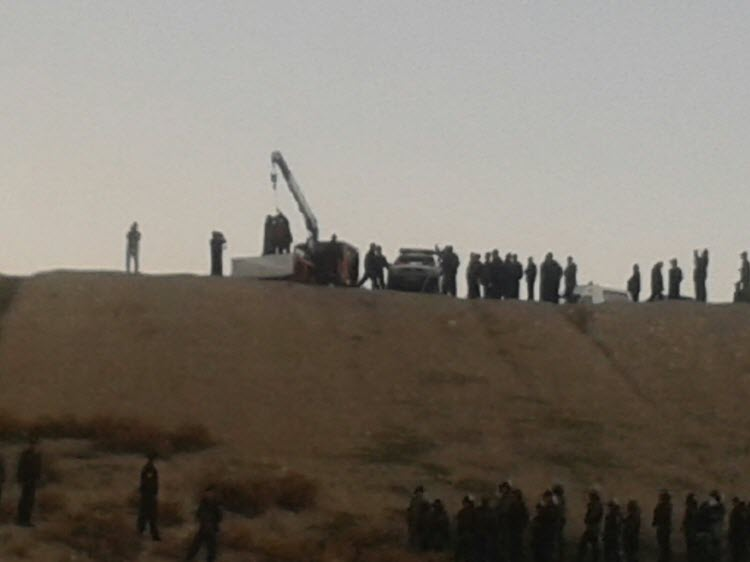 IRAN - PHOTOS: Young man hanged in public at an archaeological site