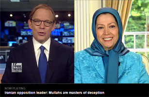 Maryam Rajavi in an interview with Fox News on 12 June 2015