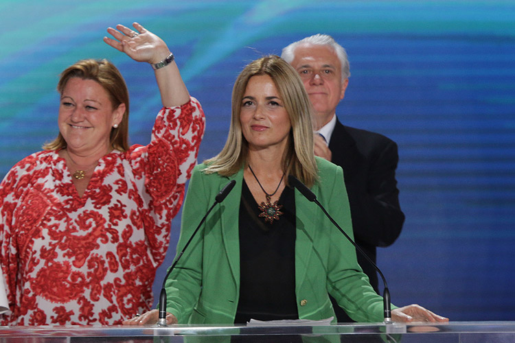 Gari Duran, Spanish Senator: There is strong support for this movement from across the globe. There are representatives from a long list of European countries who are here to express their support for Mrs Rajavi's movement