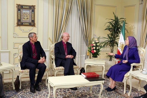 UK Bishops meet Maryam Rajavi