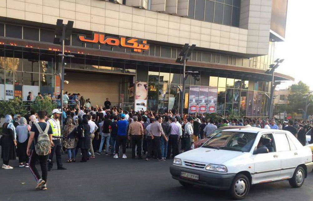 IRAN: Protesters in Karaj Chant: High Prices! Inflation! We Can Not Tolerate; Death to the Dictator