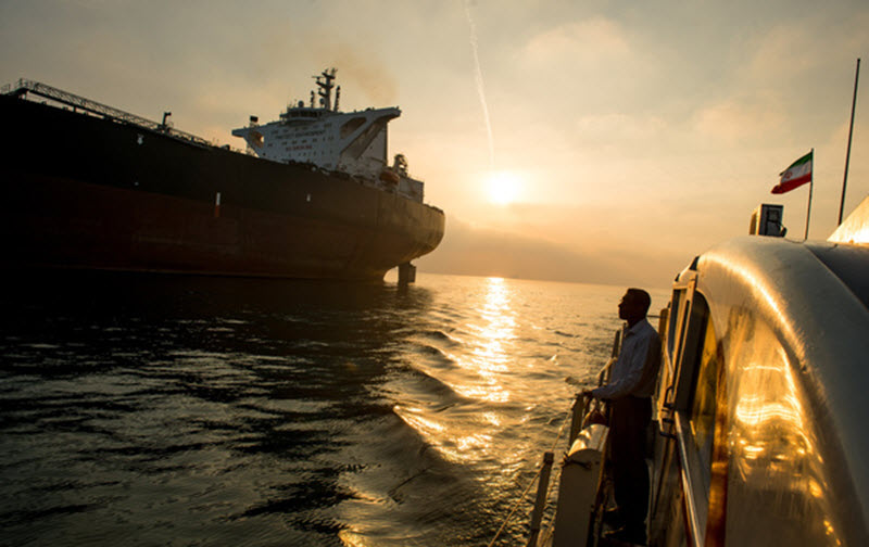 Iran's Oil Has Come Under the Hammer