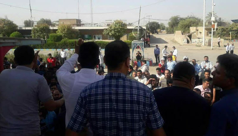IRAN: Sugar Cane Continue Strike, Residents of Marivan Protest