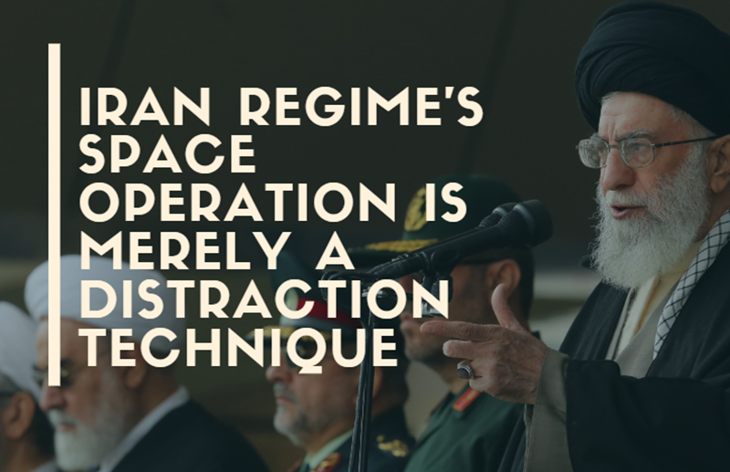 Iran's Space Operation Is Merely a Distraction Technique