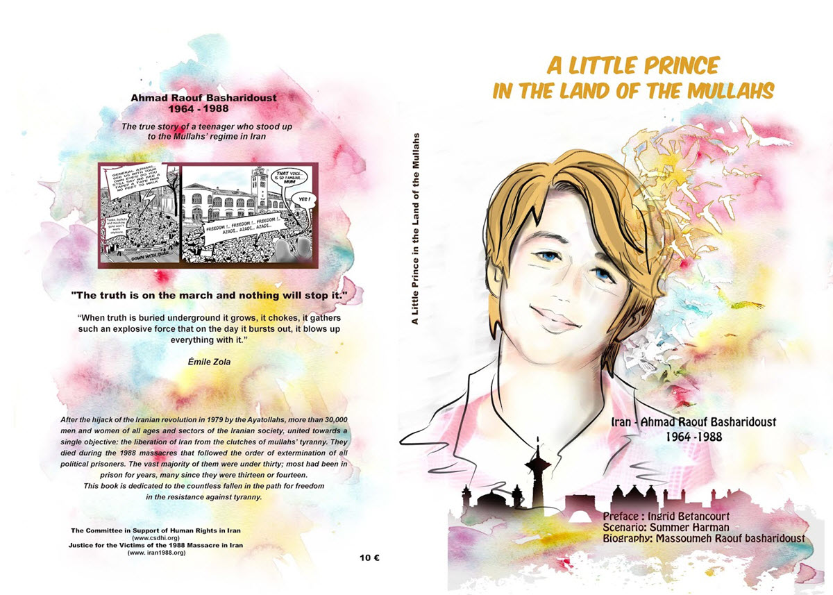 Iran-A New Graphic Novel - a Little Prince in the Land of the Mullahs