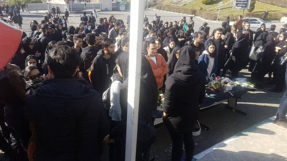 "Iran: Students Stage Protest, Chanting ""Death to the Dictator,"" ""Have No Fear, We're All Together."""