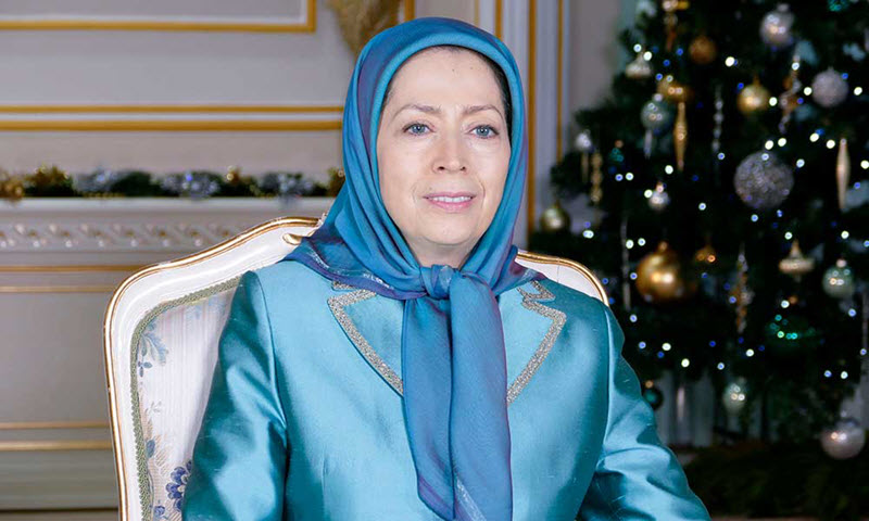 Maryam Rajavi's Christmas & New Year 2018 Message