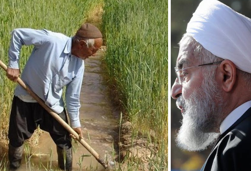 Rouhani's Ridiculous Plans to Solve Iran's Water Crisis