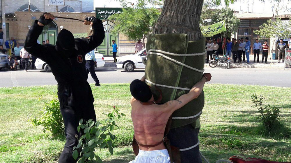 Amnesty Condemns Iran Regime for Flogging of Young Man for Drinking Alcohol at Age 15