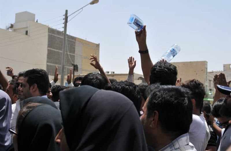 Protests Against Regime's Plundering Water Resources