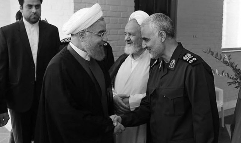 Qassem Soleimani Supports Rouhani's Threat to Cut off Regional Oil