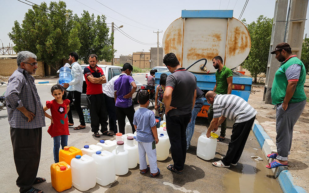 Iran Regime Selling Water to Iraq and Kuwait Despite Water Shortage