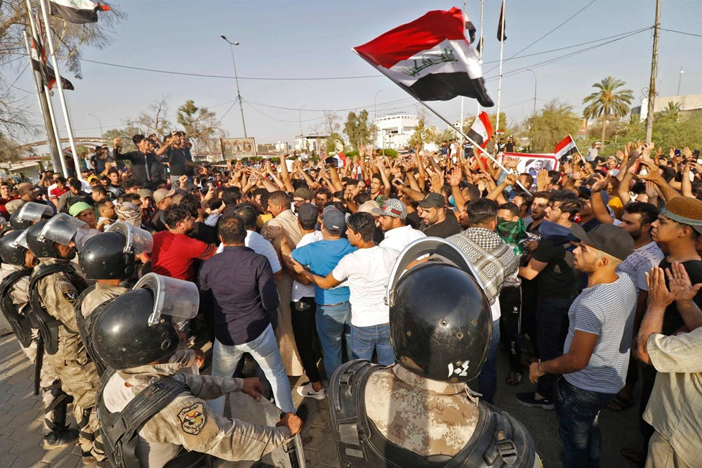 Protesters Killed in Anti-Iran Regime Demonstrations in Iraq