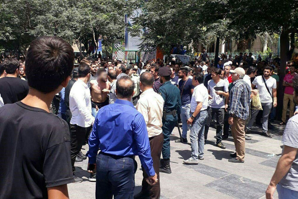 Iran: Suppressive Forces Attack Protesting Bazaar Merchants