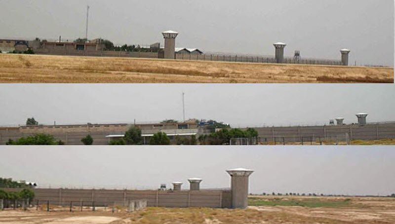 The Sheiban Prison in the City of Ahvaz (South West of Iran)