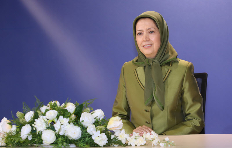 maryam rajavi - interview with Egypt Today