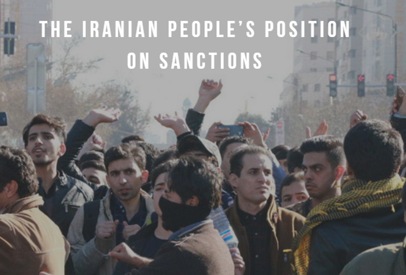 The Iranian People's Position on Sanctions