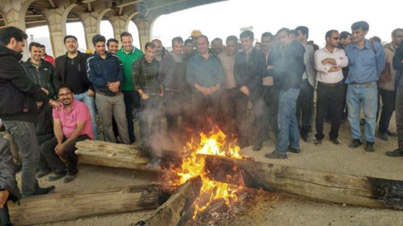 Workers Strike in Cities of Arak, Haft Tapeh and Gachsaran