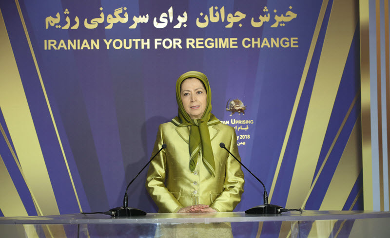 Maryam Rajavi hailed the people and martyrs of Kazeroun