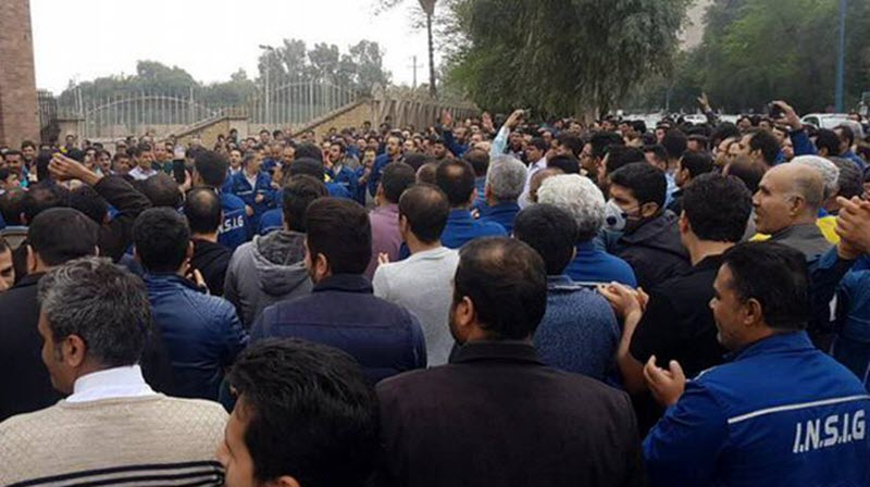 Iran: Ahvaz Steel Workers Confront Oppressive Measures by the Mullahs' Regime