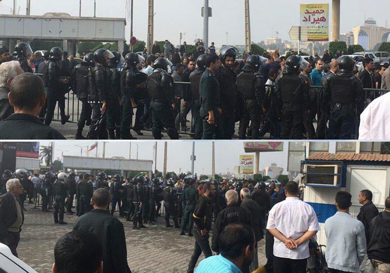 Iran: Continuation of the Strike of the Workers, Ignoring Larijani's Intimidation Ordered by Khamenei