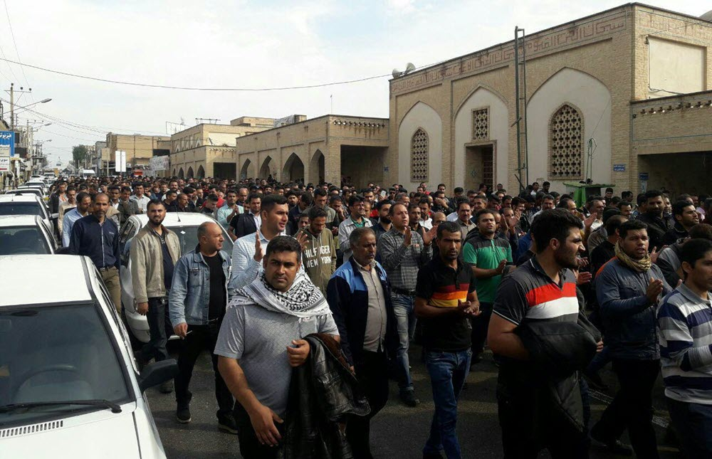 Iran: The onslaught of repressive forces on the striking workers