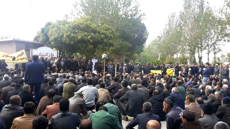 Iran-Isfahan Farmers' Sit-In Protesting Deprivation of Their Water Rights