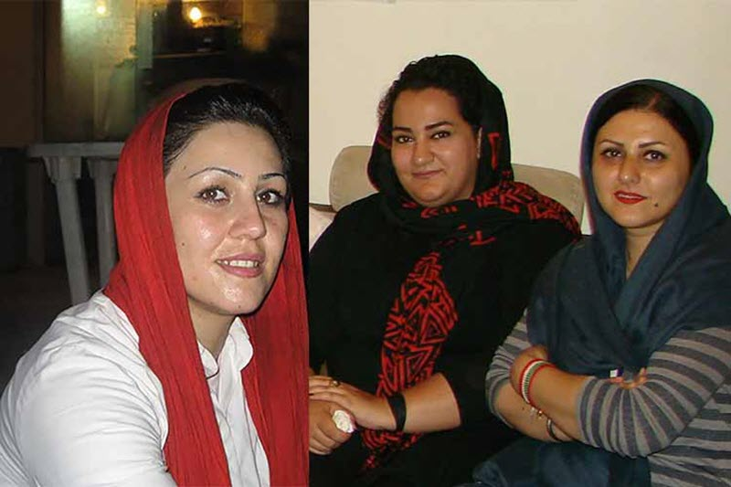 Golrokh Iraee, Atena Daemi and Maryam Akbari Monfared