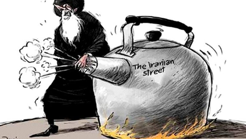 Mullahs Scared of Regime Change in Iran