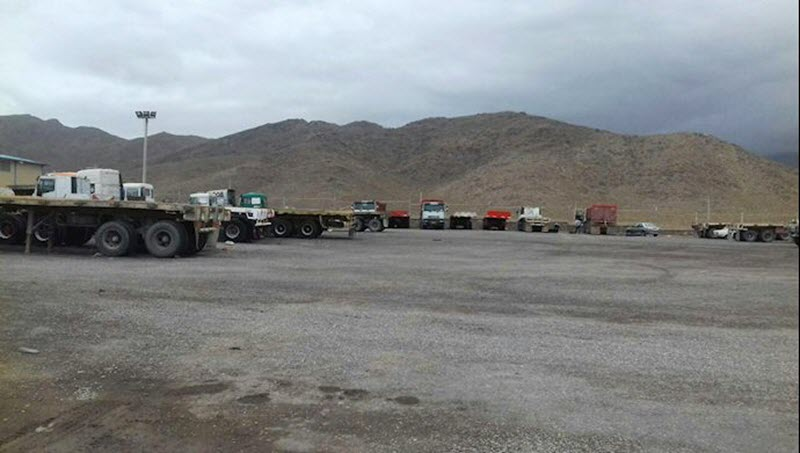 Truck drivers' strike, despite the arrest of a large number of them, entered its third week