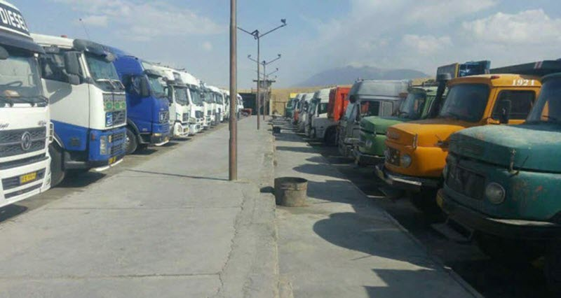 Iran: The Fourth Round of Truck Drivers's Strike in Different Provinces of the Country