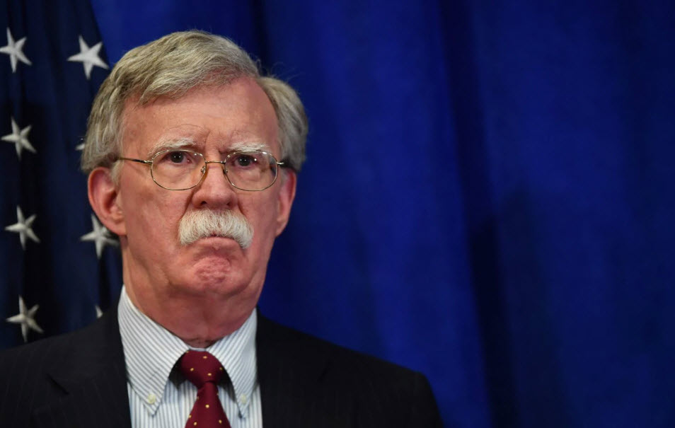 Bolton: US will stay in Syria until Iran is gone