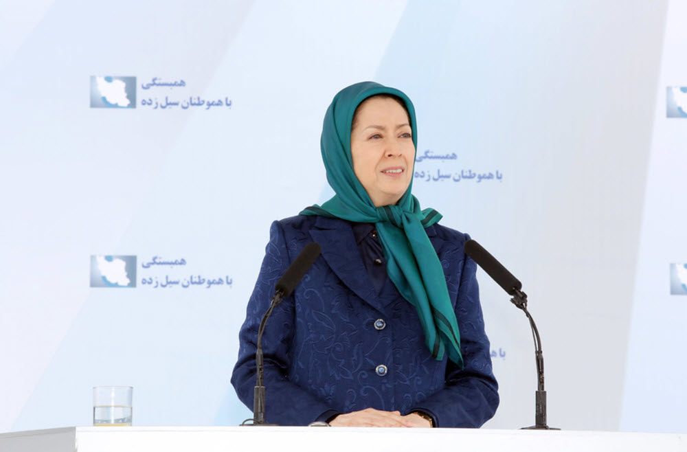 Iran: Maryam Rajavi Calls for Formation of Popular Councils in Ahvaz to Deal With Flood